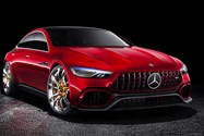 Mercedes-AMG GT concept Coupe / خودروی مفهومی کوپه مرسدس AMG GT
