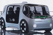 Jaguar Land Rover autonomous electric car / جگوار لندرور