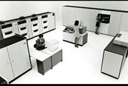 ۱۹۷۴: اولین کتابخانهی نوار خودکار (IBM 3859)