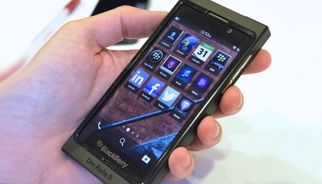 Blackberry 10 Alpha
