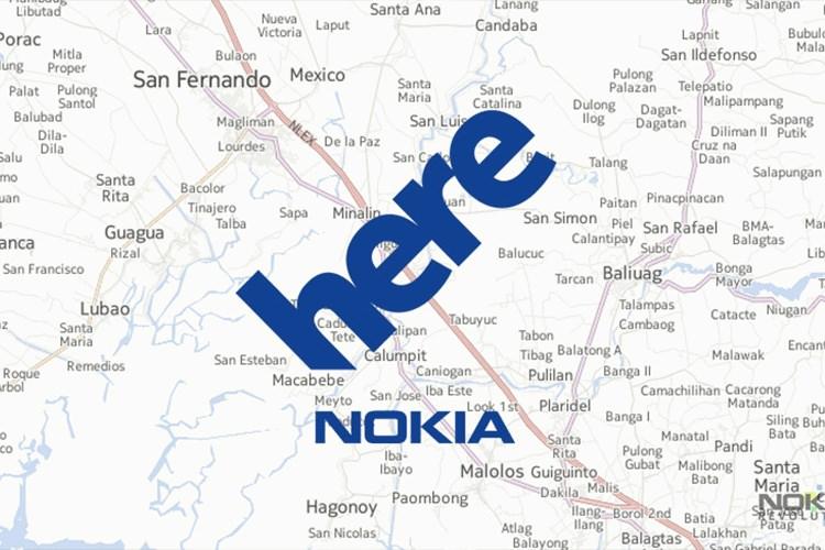نقشه های هیر نوکیا، نمونه ای از آینده نقشه های آنلاین