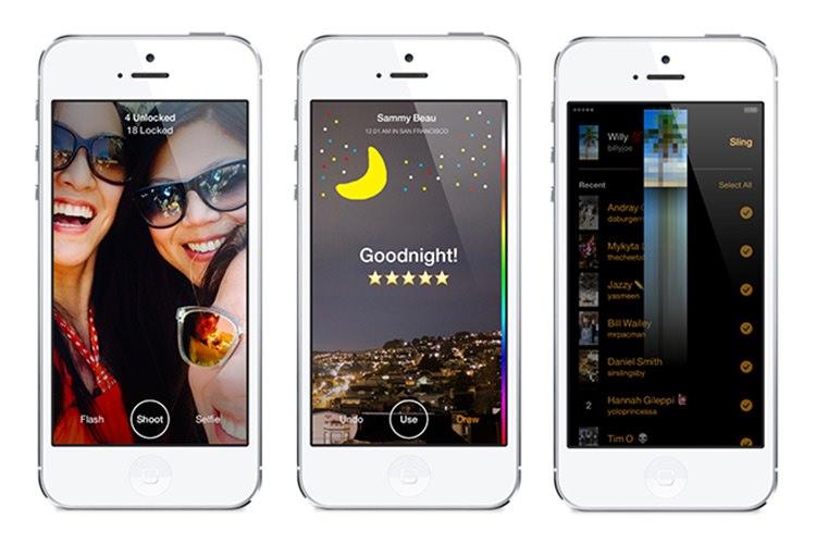 فیسبوک سرویس Slingshot را برای مقابله با Snapchat رونمایی کرد