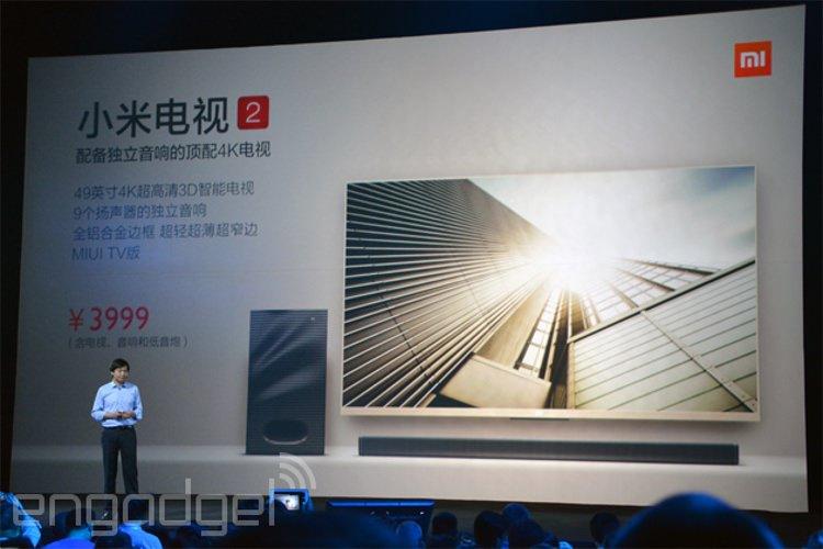تلویزیون اندرویدی شیائومی در اندازه ی 49 اینچ و با کیفیت 4K تنها با قیمت 640 دلار معرفی شد