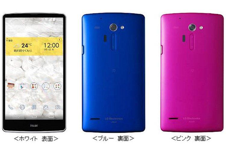 جی ۳ با طعم ال جی Isai FL؛ ال جی اولین تلفن هوشمند خود را با صفحه ی نمایش QHD معرفی کرد