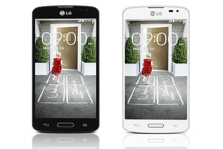 تلفن هوشمند F70 ال جی وارد بازارهای جهانی شد
