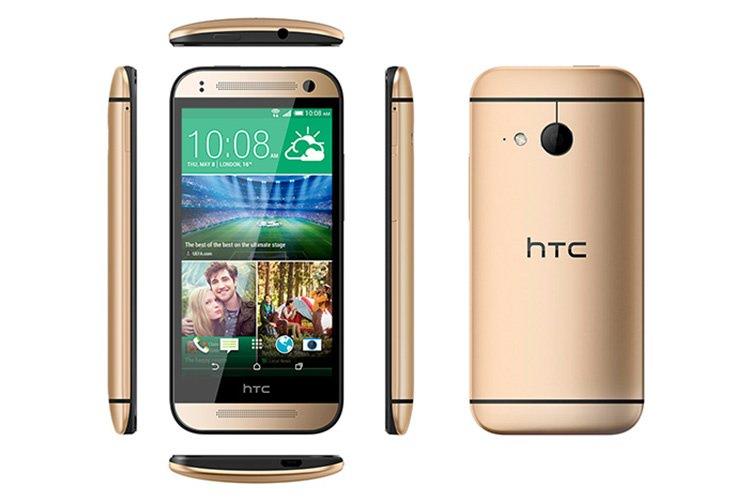 HTC One mini 2 معرفی شد: دوربین 13 مگاپیکسل، اندازه 4.5 اینچ، پردازنده اسنپدراگون 400، یک گیگابایت رم