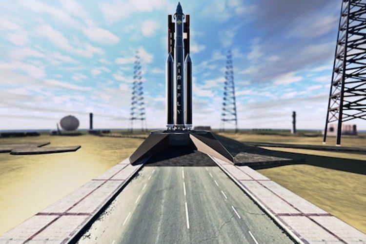 موشک با سوخت گاز متان