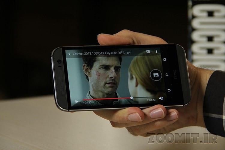 بررسی ویدویی زومیت از HTC One M8