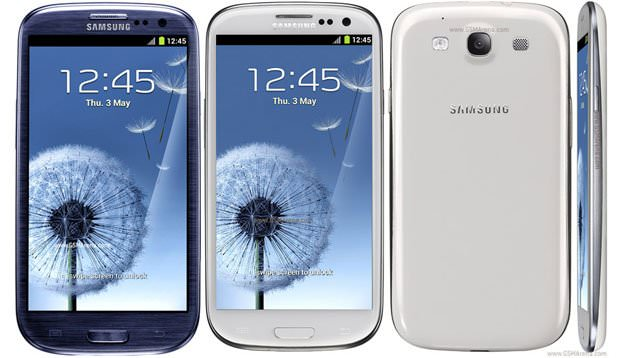 مقایسه مشخصات فنی: Galaxy S III با HTC One X, Nokia Lumia 900, iPhone 4S, Galaxy S II و Galaxy Nexus