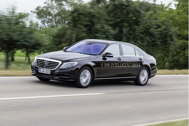 Mercedes Benz S Class Intelligent Drive