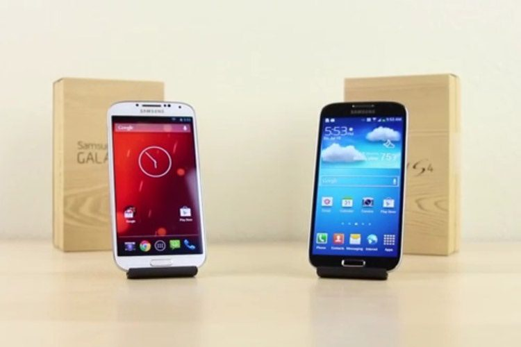 touchwiz vs android stock