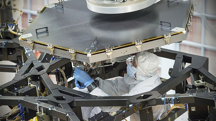 nasa james webb space telescope first mirror 1 e5487
