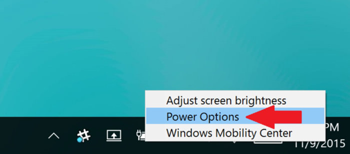 right click on battery icon bd1b8