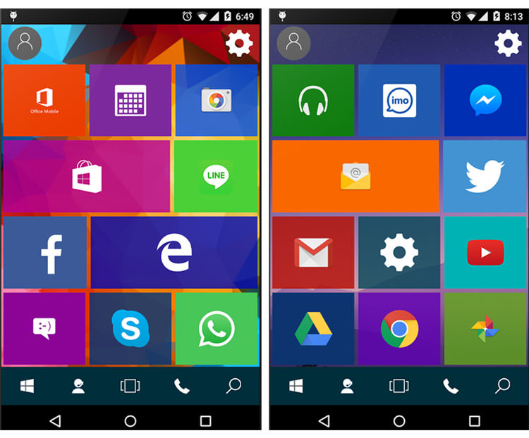 win 10 launcher2 eff8e