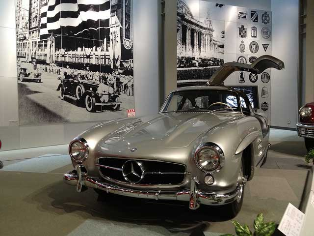 mercedes benz 300 sl coupe 1955 c60c9