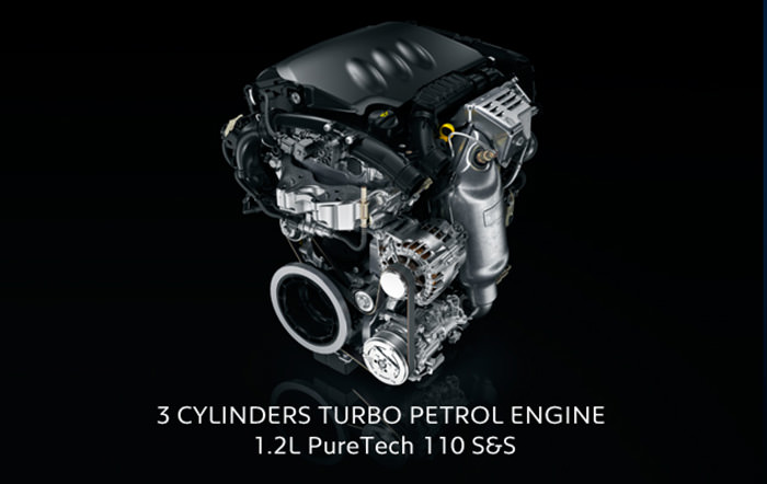 psa peugeot citroen 1.2 litre three cylinder turbo