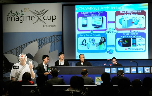 Imagine Cup - uCHAMPsys from Taiwan