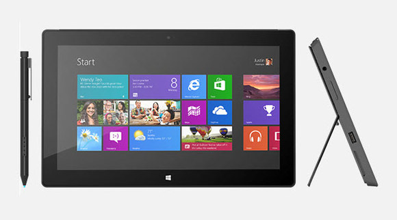 Microsoft Surface with Windows 8 Pro-580-100