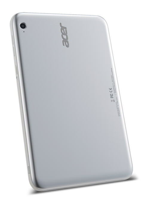 Acer Iconia W3-810 back verge super wide
