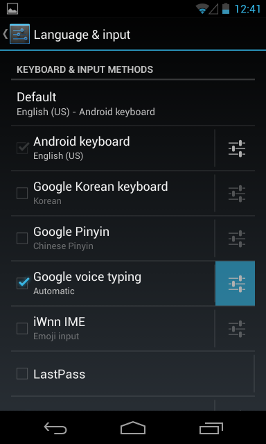 google-voice-typing-settings
