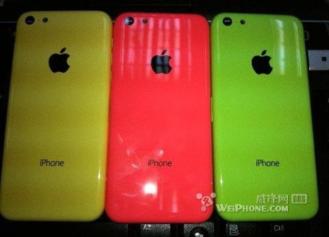 iphone plastic yellow red green 1