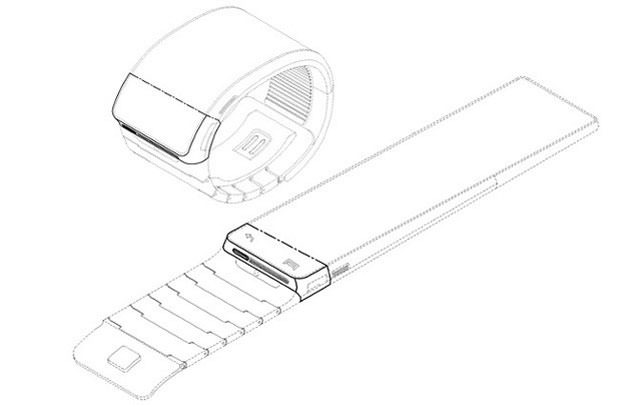 samsung smart watch patent