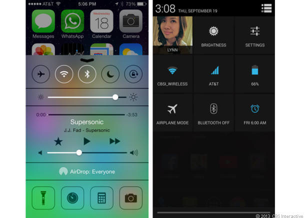 control center and quick settings full 610x436