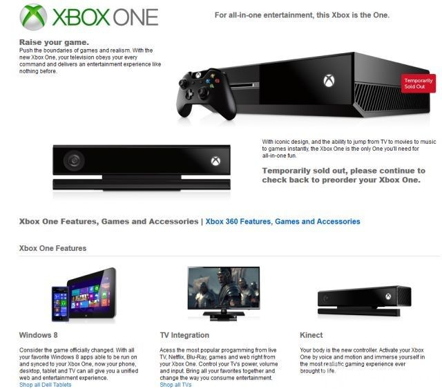 xbox one preorder