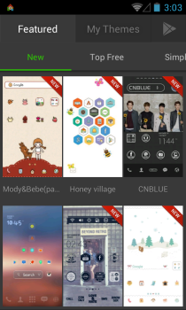 dodol-Launcher Featured-Themes