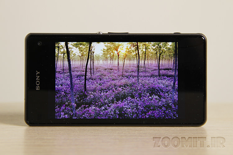 xperia z1 compact display