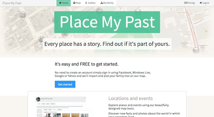 Place My Past