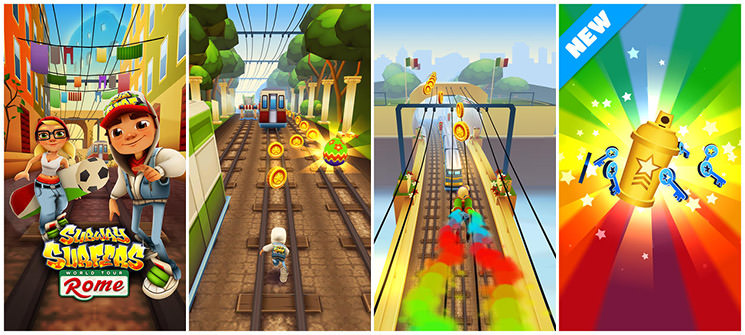 Subway Surfers: Rome