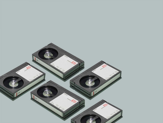 Relics of Technology Betamax verge super wide