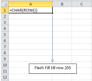Flass-Fill-Rows