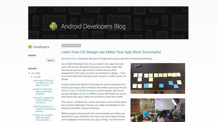 Android Develpoer Blog