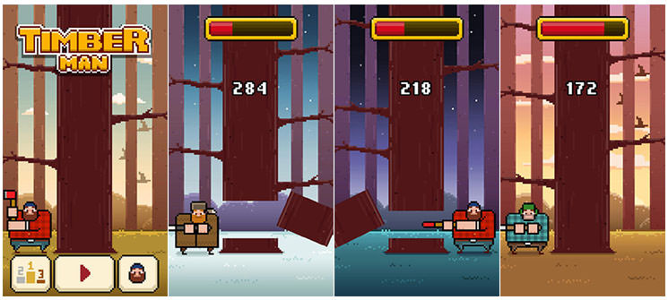 Timberman Preview