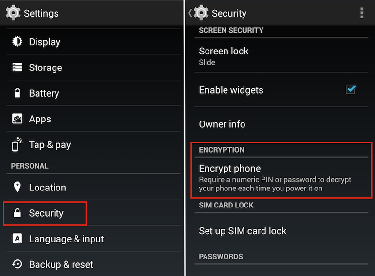 android-encrypt