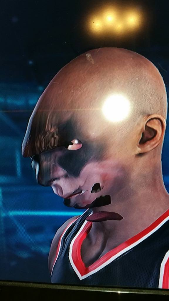 nba 2k15 face scan bug 9