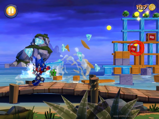 angrybirds transformers 2