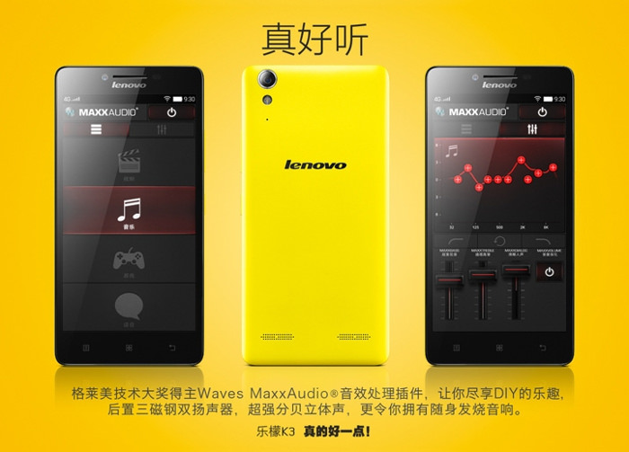 Lenovo-K3-Music-Lemon 1