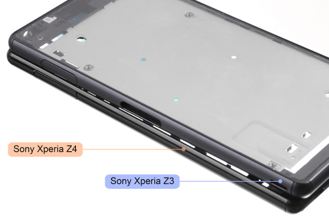 Leaked-Sony-Xperia-Z4-chassis-and-LCD-touch-digitizer 2
