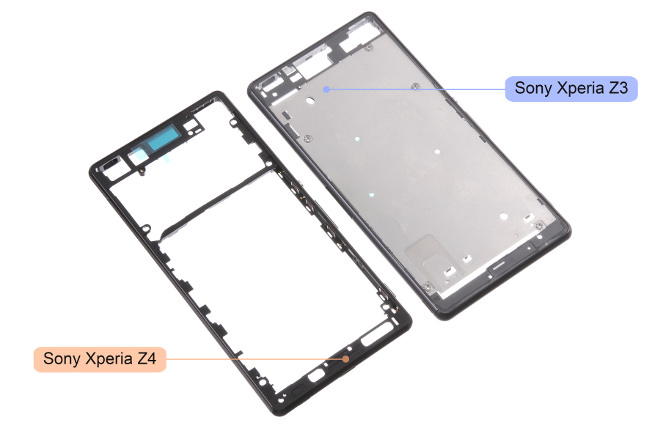 Leaked-Sony-Xperia-Z4-chassis-and-LCD-touch-digitizer 4