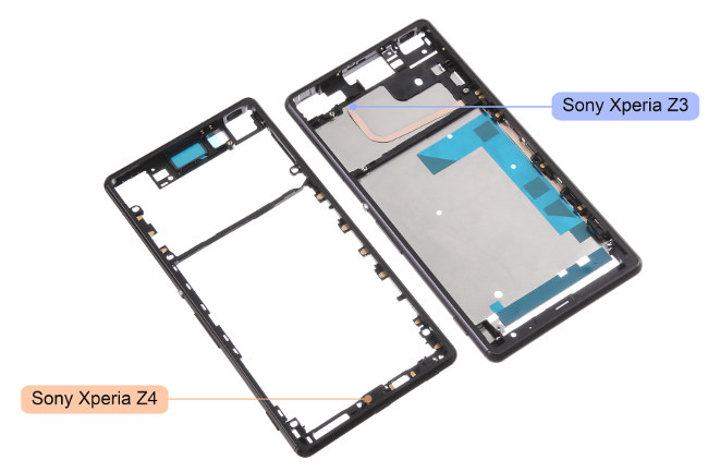 Leaked-Sony-Xperia-Z4-chassis-and-LCD-touch-digitizer 5