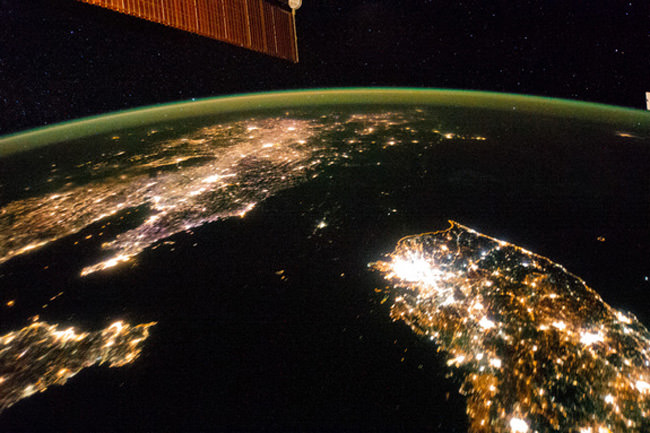 north-korea-night-lights