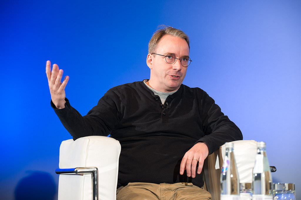 linus torvalds created linux