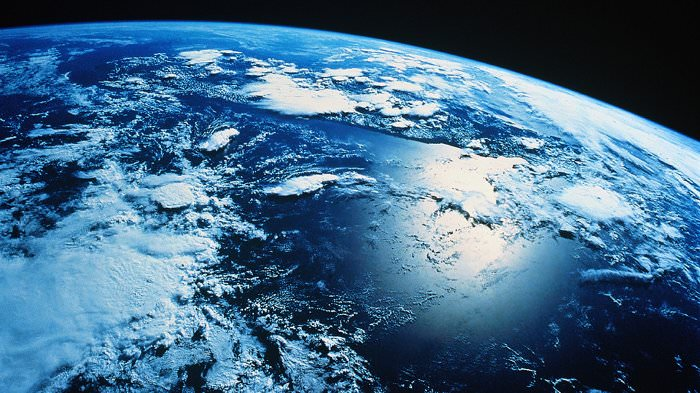 exo planet earth from space