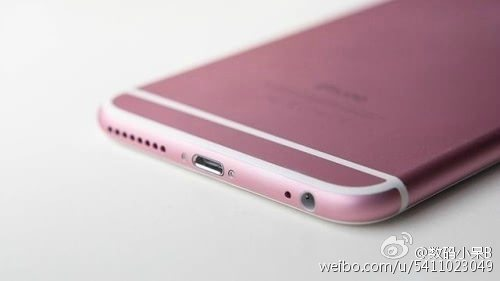 Pink iPhone 6s incoming Heres what it might look like 1
