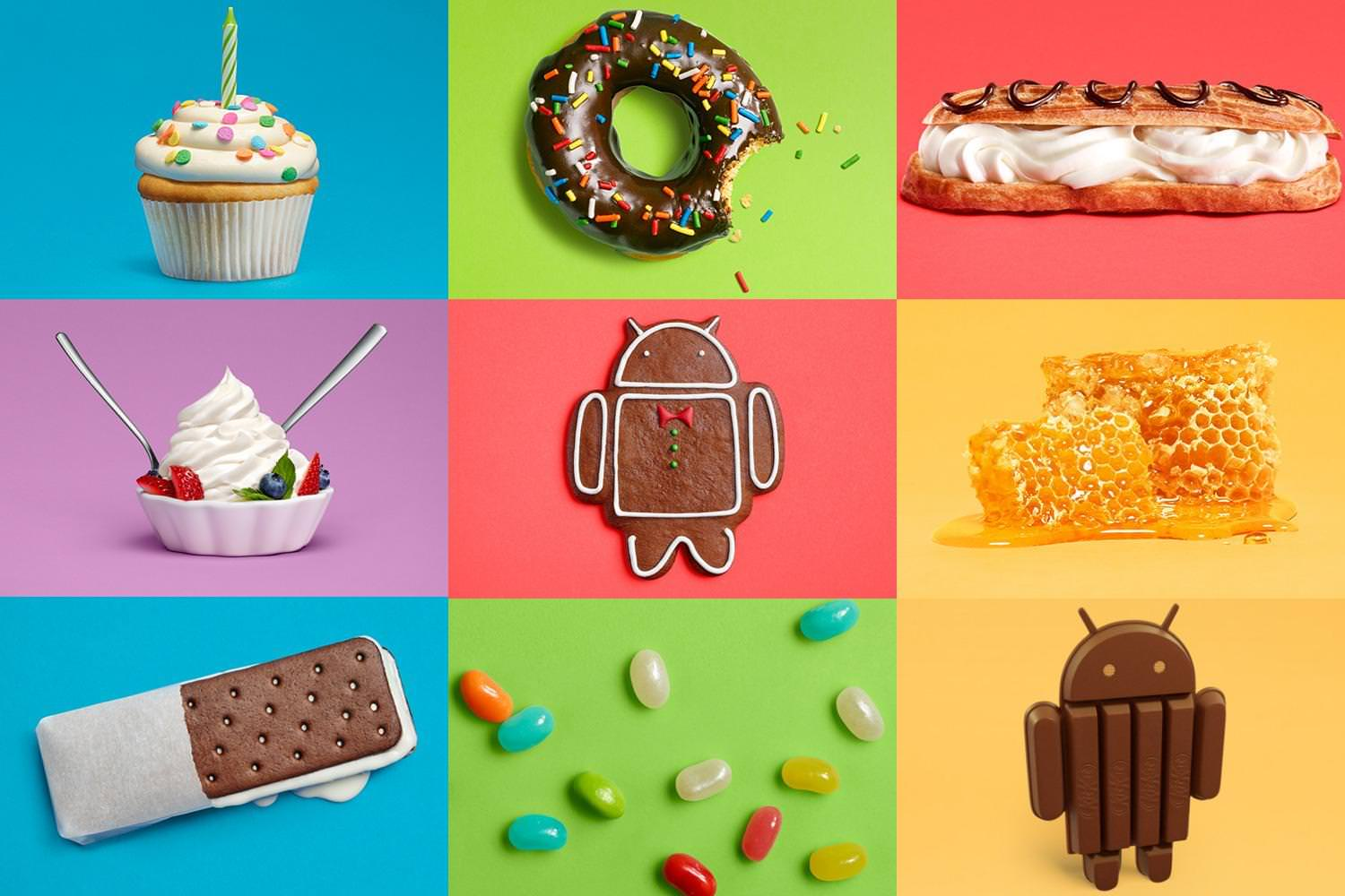 Android versions