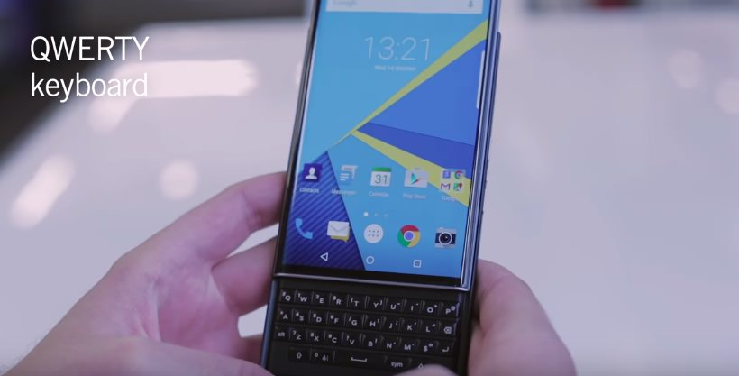 blackberry priv 11