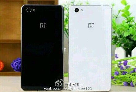 OnePlus X black and white leak 1